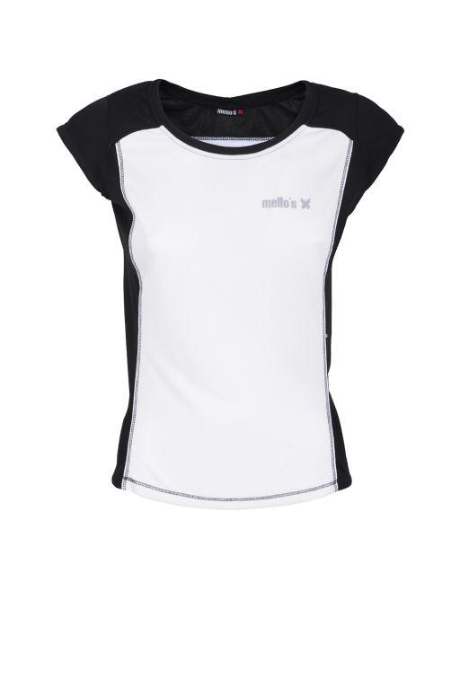 T-shirt à col rond Adamello Lady