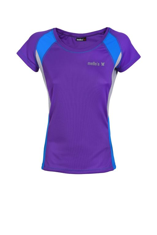 T-Shirt Girocollo Run Lady