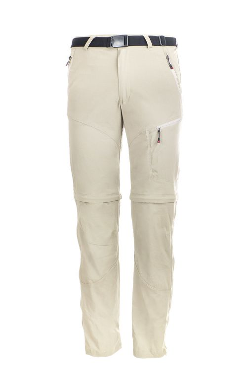 Pantalone convertibile bermuda da trekking e Travel Sella