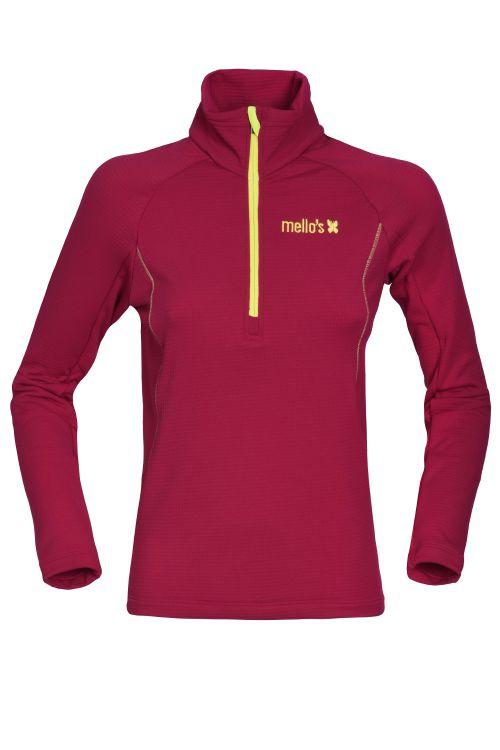 Rodes Lady Thermisch fleece Sweater geschlossen