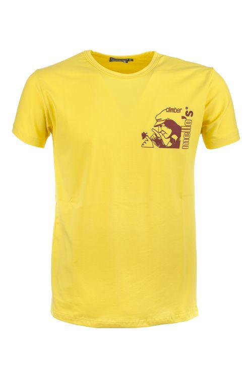 Camiseta de algodón elástico Ceuse