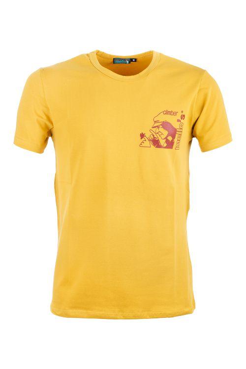 Camiseta de algodón elástico