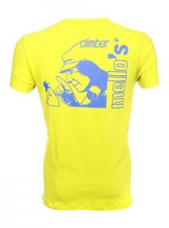 Camiseta de algodón elástico Mello's Climber