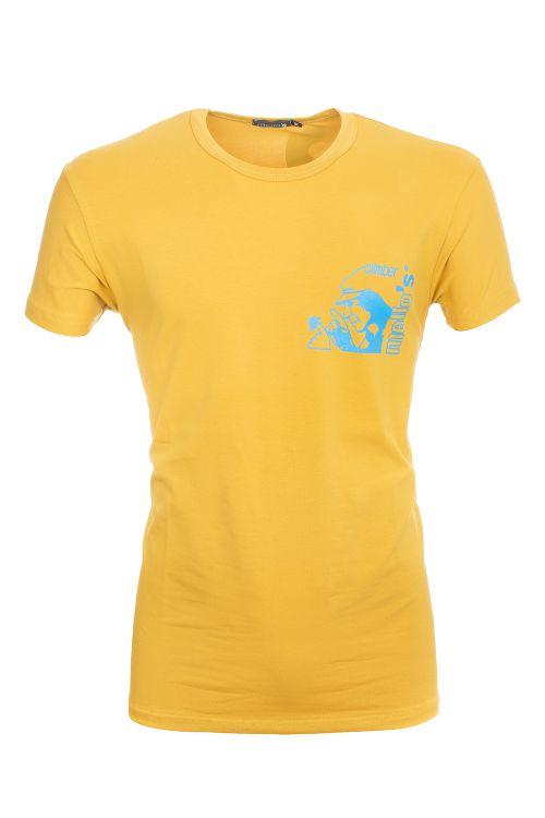 Camiseta de algodón elástico Remenno