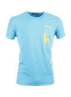 Camiseta de algodón elástico Verdon