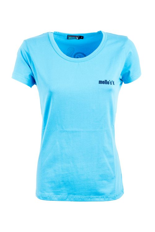 Stretch-Baumwoll-T-Shirt Hampi Lady