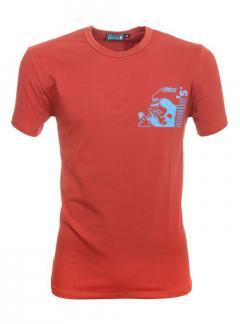 Remenno Stretch-Baumwoll-T-Shirt