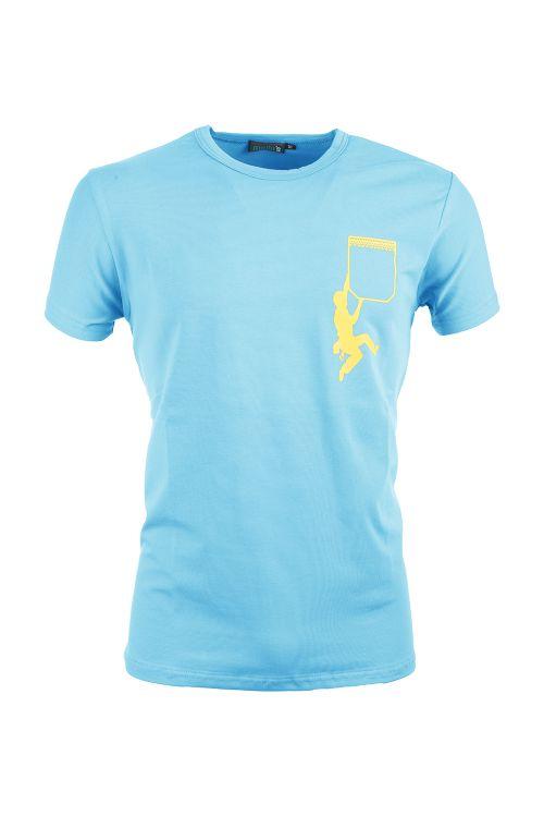T-shirt cotone elasticizzato Verdon