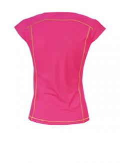 camiseta con cuello en v-vernel-lady