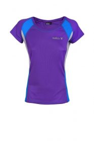 Camiseta de cuello redondo-run-lady