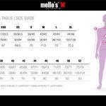 Guida-Taglie-Donna-Mello's