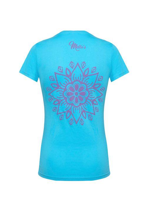 T-shirt à manches courtes Mandala Lady