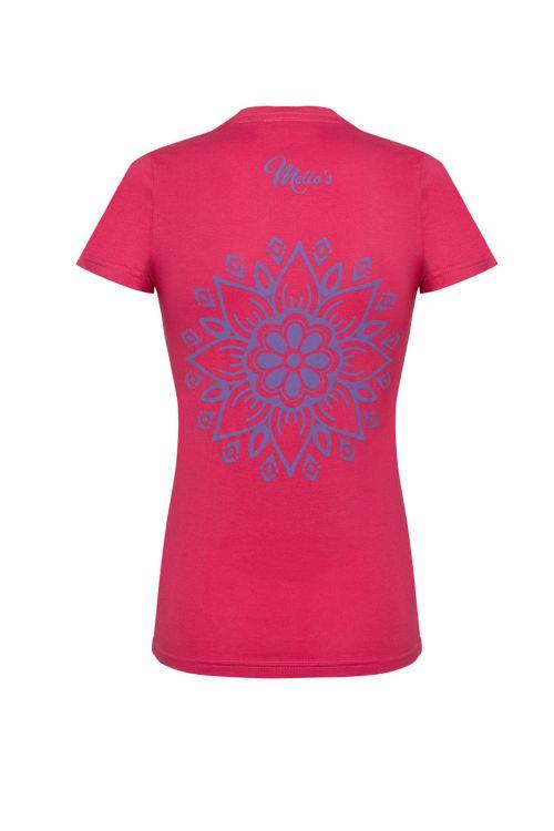 T-shirt manica corta Mandala Lady