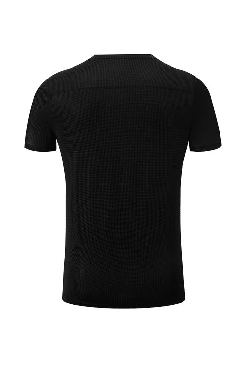 Layer Lines Stretch Polyester T-Shirt