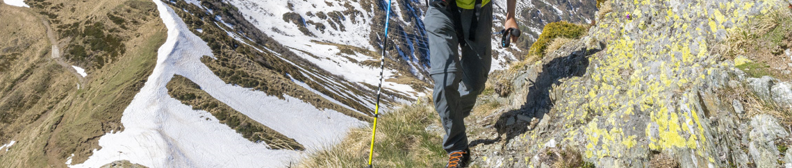I pantaloni da montagna